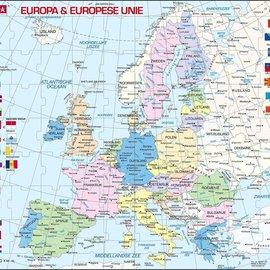 Larsen Larsen puzzel Maxi Kaart Europa