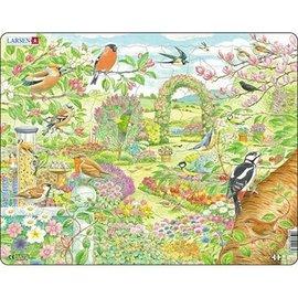 Larsen Larsen puzzel Maxi Dieren tuinvogels