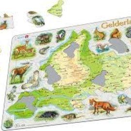 Larsen Larsen puzzel Maxi Kaart Geo