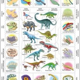 Larsen Larsen puzzel Maxi Dieren - Kenmerken van dinosauriers