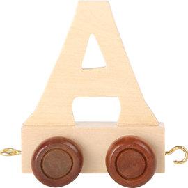 Houten lettertrein Letter A