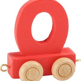 Legler Houten Lettertrein Letter O (rood)