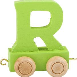Legler Houten Lettertrein Letter R (groen)