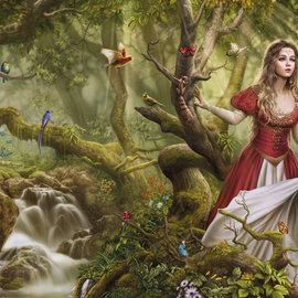 Heye Heye Panorama puzzel Forest Song (1000 stukjes)