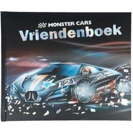 TopModel Monstercars vriendenboek