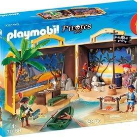 Playmobil Playmobil - Meeneem pirateneiland (70150)