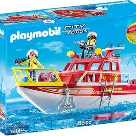 Playmobil Playmobil - Brandweerboot (70147)