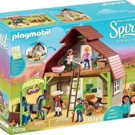 Playmobil Playmobil - Schuur met Lucky/Pru/Abigail Playmobil (70118)