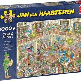 Jumbo Jan van Haasteren puzzel - De Bibliotheek (1000 stukjes)