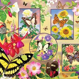 Cobble Hill Cobble Hill Butterfly Magic (500 stukjes)