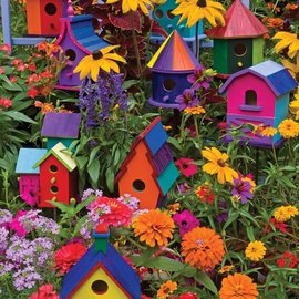 Cobble Hill Cobble Hill Birdhouses (275 XL stukjes)
