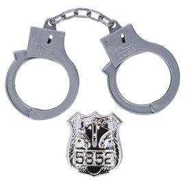Eddy Toys Eddy Toys Handboeien en Politiebadge