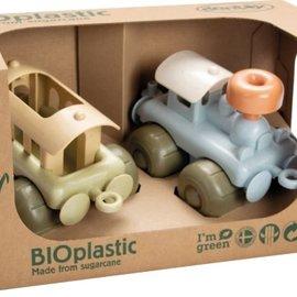 Dan Toy Dan Toy Treinen (set van 2) BioPlastic