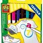 SES SES Textiel Marker (8 kleuren)