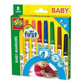 SES SES Baby Markers - 8 stuks