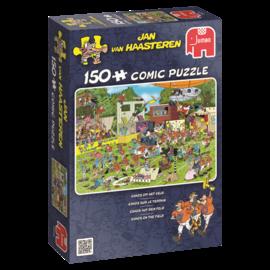 Jumbo Jan van Haasteren puzzel - Chaos op het veld (150 stukjes)