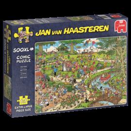 Jumbo Jan van Haasteren - Het park (500 XL stukjes)