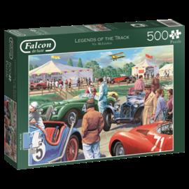 Jumbo Jumbo Falcon de luxe puzzel Legends of the track (500 XL stukjes)