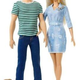 Barbie Barbie - Kadoset Ken en Barbie met puppy