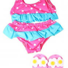 Heless Heless Bikini met slippers 34/45
