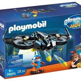 Playmobil Playmobil Robotitron met drone (70071)
