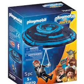 Playmobil Playmobil Rex Dasher met parachute (70070)
