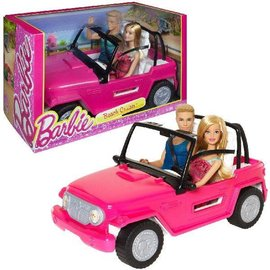 Barbie Barbie Beach Cruiser incl twee poppen