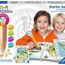 Ravensburger Ravensburger TipToi Starter set Wereldatlas (stift+boek+grote landkaart)