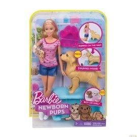 Barbie Barbie met pup