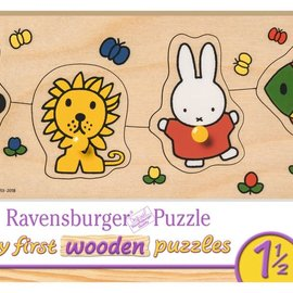 Ravensburger Ravensburger Houten puzzel Mijn eerste houten puzzel Nijntje en haar dierenvriendjes