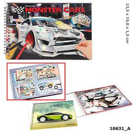 monster cars Monster Cars pocket kleurboek