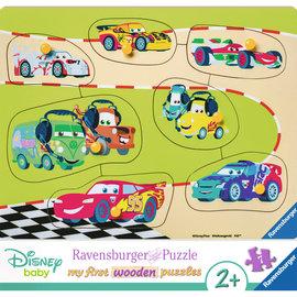 Ravensburger Ravensburger Houten puzzel Mijn eerste houtenpuzzel -  De Cars familie