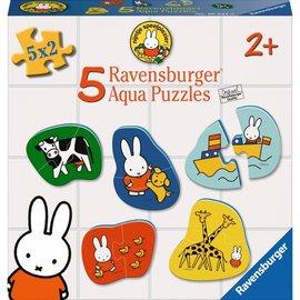 Ravensburger Ravensburger Aqua puzzel Nijntje (5x 2 stukjes)
