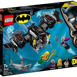 Lego Lego 76116 Batduikboot en het onderwatergevecht