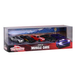 Majorette Majorette Autoset Muscle Cars (5 stuks)