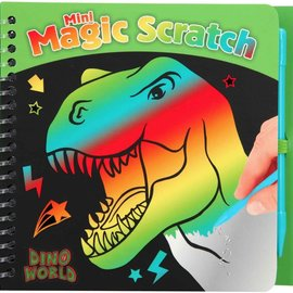 Dino World Dino World Mini Magic-Scratch Book