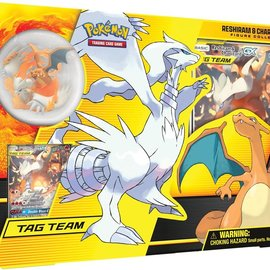 Pokémon Pokémon Tag Team Reshiram & Charizard-GX figure collection