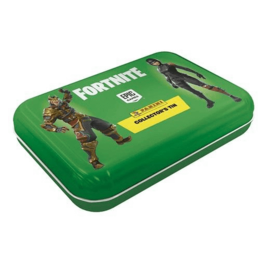 Panini Fortnite Pocket tinnen doos (4 zakjes kaarten)