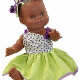 Paola Reina Paola Reina Babypop Gordi d.meisje gekleed 34 cm