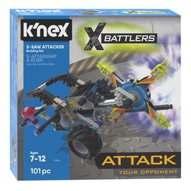 Knex K'Nex X-Saw attacker Bouwset