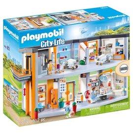 Playmobil Playmobil - Groot ziekenhuis met inrichting (70190)