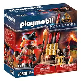 Playmobil Playmobil - Vuurmeester met vuurwerkkanon (70228)