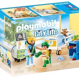 Playmobil Playmobil - Kinderziekenhuiskamer (70192)
