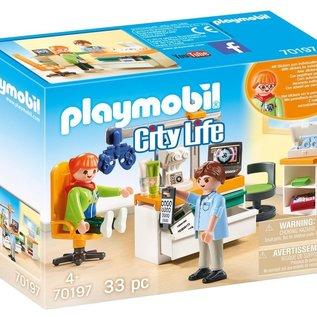 Playmobil Playmobil - Oogartspraktijk (70197)