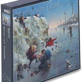 Art Puzzel Marius van Dokkum puzzel - IJspret (1000 stukjes)