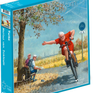 puzzel Puzzel Marius van Dokkum - Turbo (1000 stukjes)