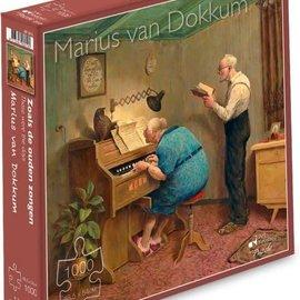 Marius van Dokkum puzzel - Zoals de ouden zongen (1000 stukjes)