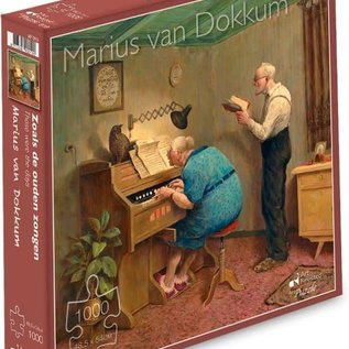 puzzel Puzzel Marius van Dokkum - Zoals de ouden zongen (1000 stukjes)