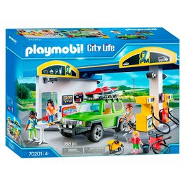 Playmobil Playmobil - Tankstation (70201)