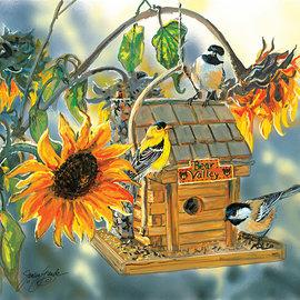 Sunsout SunsOut puzzel Bear Valley Birds (1000 stukjes)
